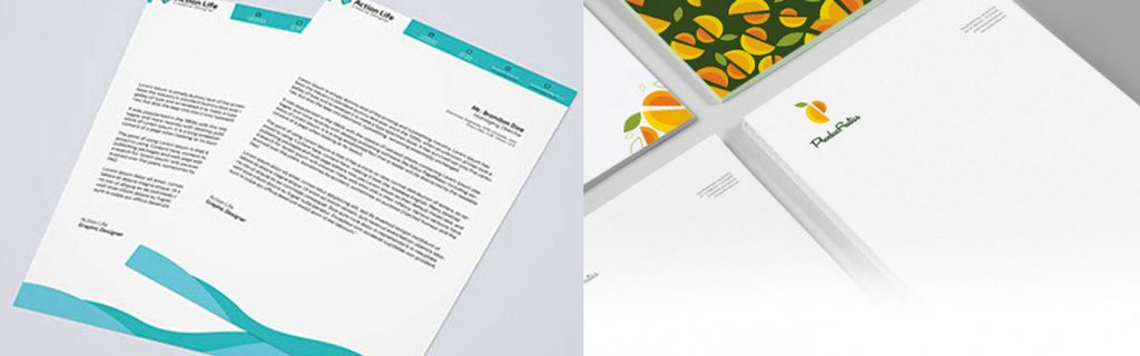 quality letterhead design