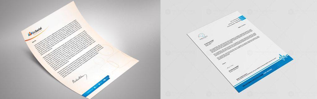 letterhead important in companies